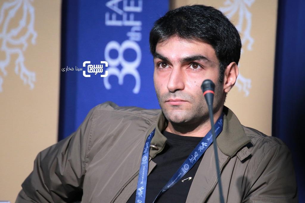 سینوهه دانشمند - گزارش تصویری - نشست خبری فیلم «دشمنان» - جشنواره فیلم فجر 38
