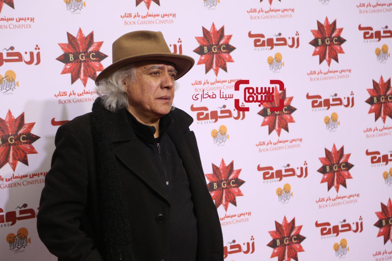 سیروس الونددر اکران خصوصی فیلم «ژن خوک»