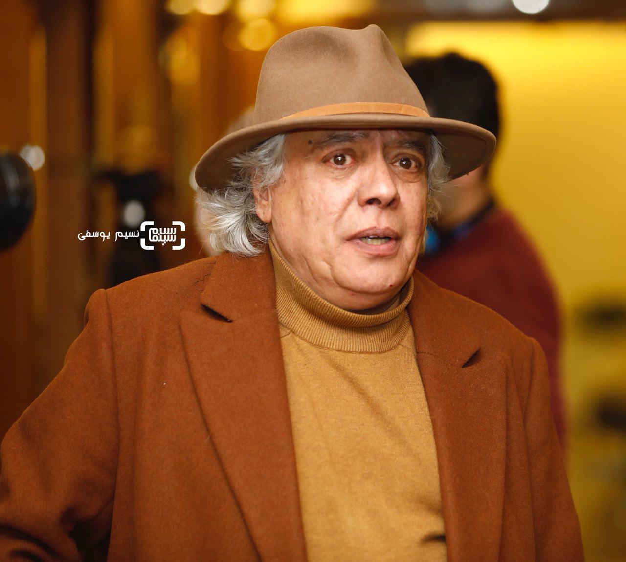 سیروس الوند در اختتامیه در سی و ششمین جشنواره فیلم فجر