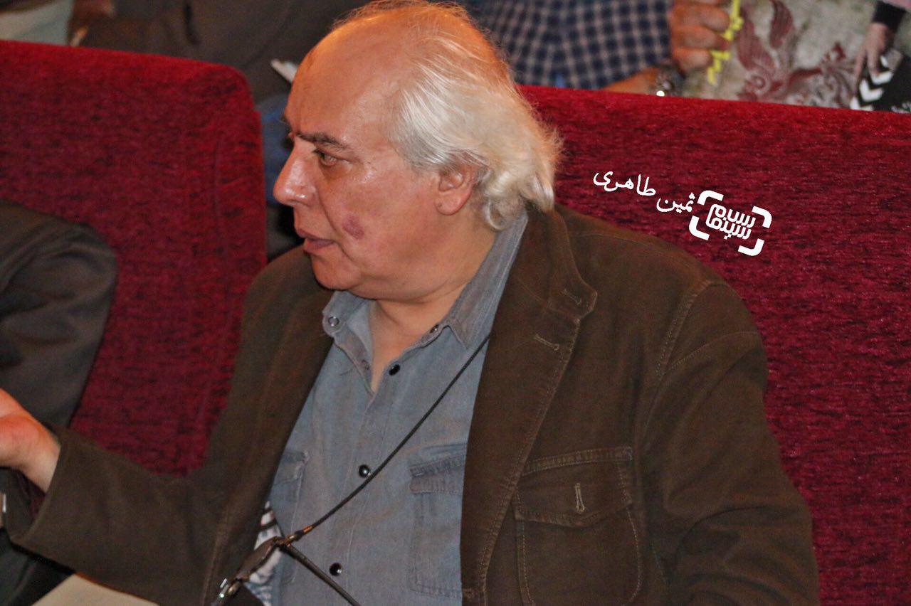 عکس سیروس الوند در نکوداشت رامبد جوان در جشنواره سما