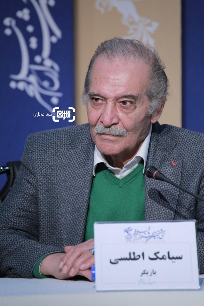 سیامک اطلسی - گزارش تصویری - نشست خبری «من می ترسم»- سی و هشتمین جشنواره فیلم فجر