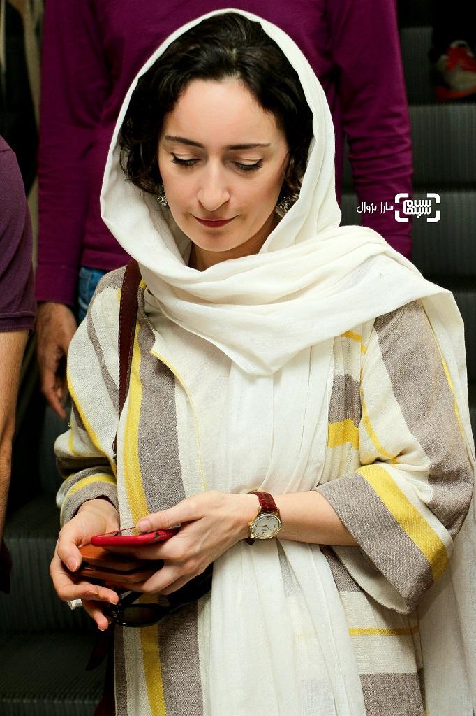 عکس سهیلا گلستانی در روز اول سی و هفتمین جشنواره جهانی فیلم فجر