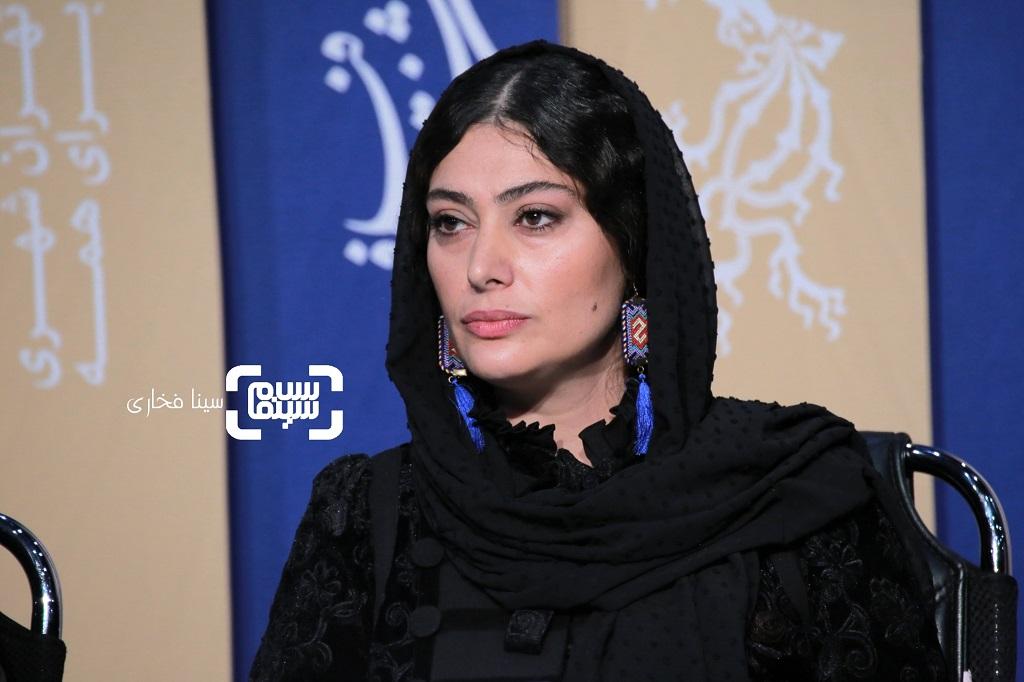 سودابه بیضایی- گزارش تصویری - نشست خبری فیلم «تعارض» - جشنواره فیلم فجر 38