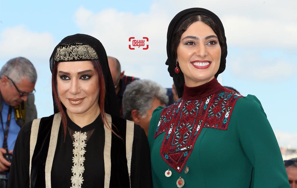 جشنواره فیلم کن با حضور سودابه بیضایی و نسیم ادبی در روز سوم/ گزارش تصویری