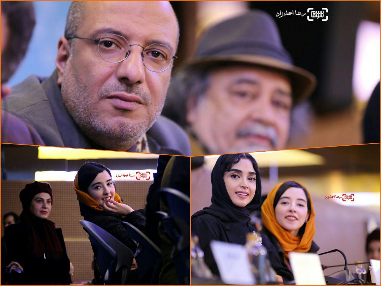 گزارش تصویری اکران و نشست فیلم «سوفی و دیوانه» در جشنواره فجر 35