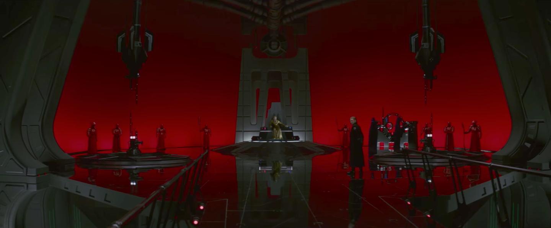 نمایی از فیلم سینمایی جنگ ستارگان : آخرین جدای