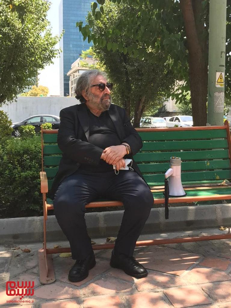 مسعود کیمیایی در تجمع هنرمندان برای حمایت از مردم خوزستان
