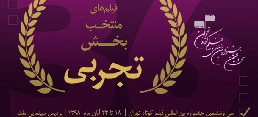 معرفی آثار تجربی سیوششمین جشنواره فیلم کوتاه تهران