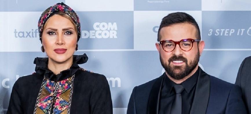 هومن سیدی و سمیرا ذکایی در جشنواره شبهای تالین/ گزارش تصویری