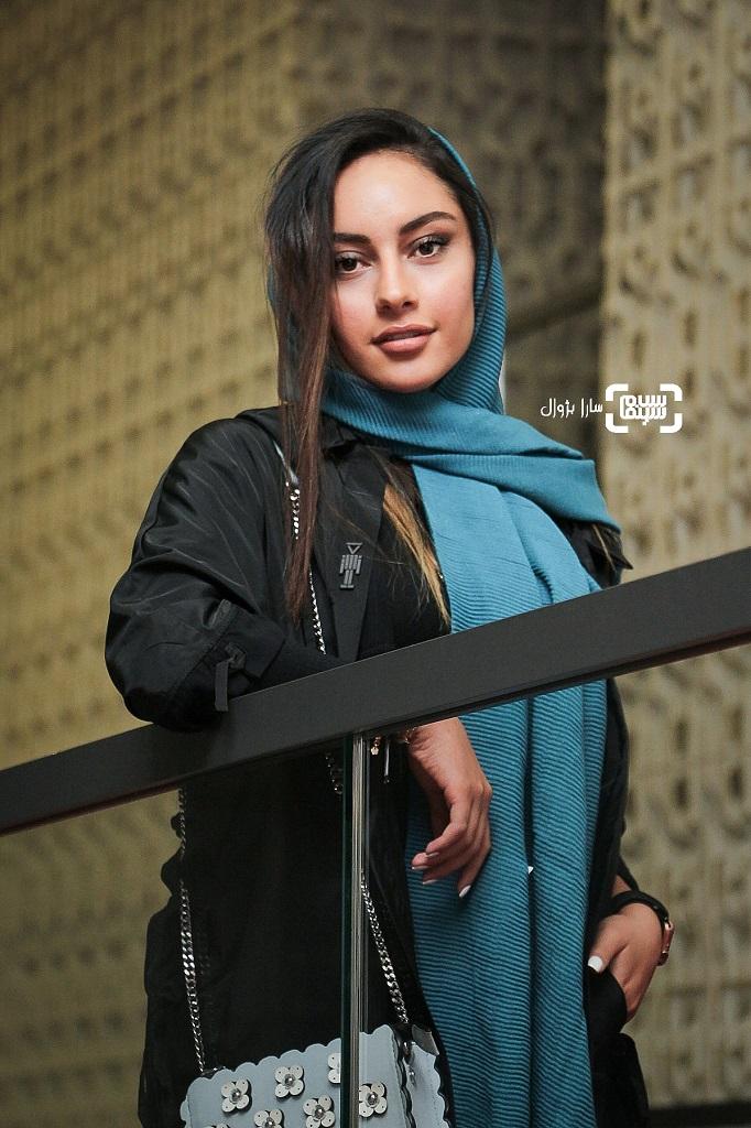 عکس ترلان پروانه در روز هفتم سی و هفتمین جشنواره جهانی فیلم فجر