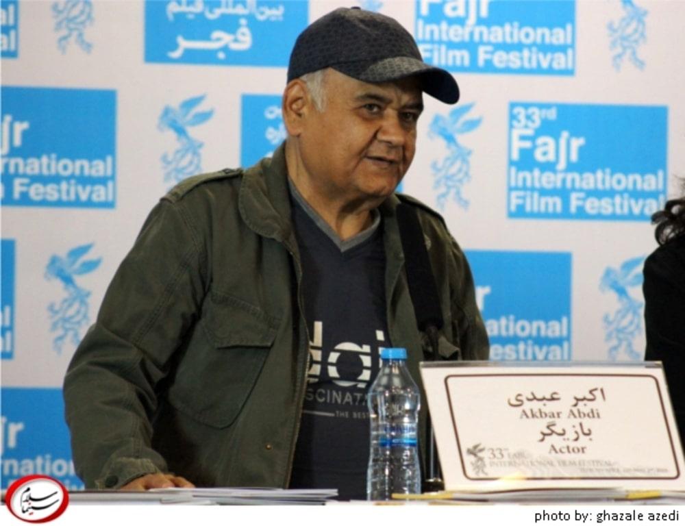 پرکارترین بازیگران مرد ایرانی- اکبر عبدی