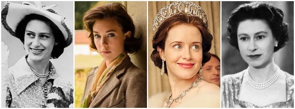 نکات جالب سریال تاج (The Crown) - ونسا کربی و کلر فوی