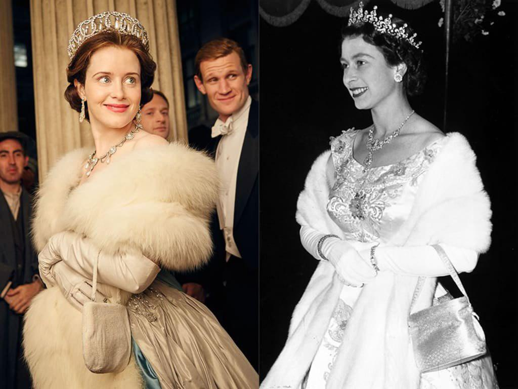 کلر فوی در نقش پرنسس الیزابت