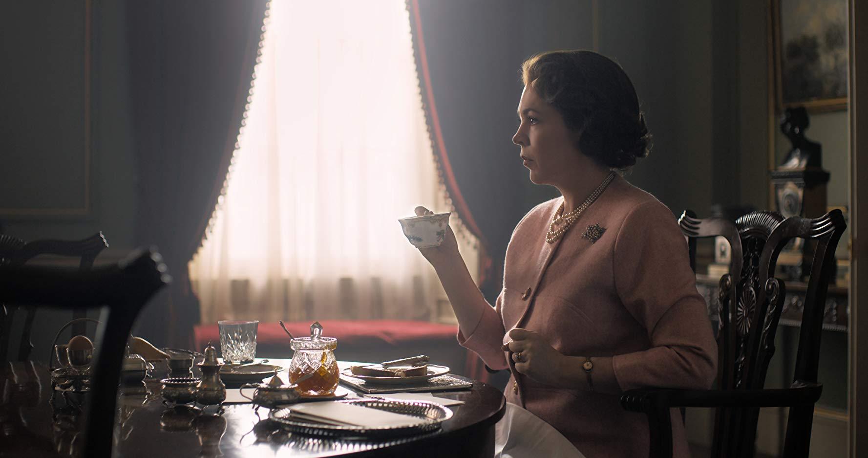 الیویا کلمن در فصل سوم سریال تاج