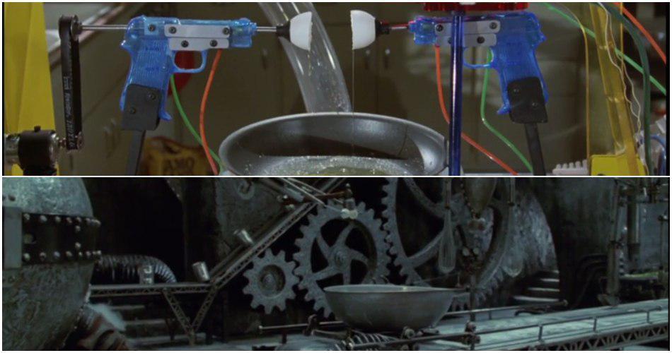 ماشین های روب گلدبرگ در فیلم های تیم برتون
