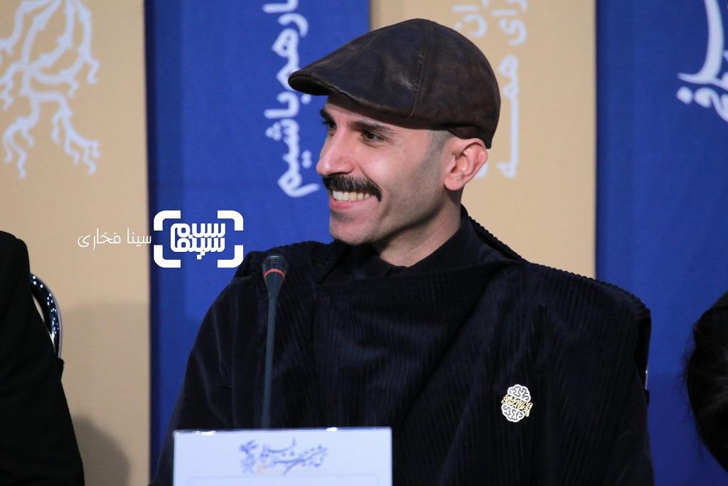 توماج دانش بهزادی - گزارش تصویری - نشست خبری فیلم «لباس شخصی» - جشنواره فیلم فجر 38