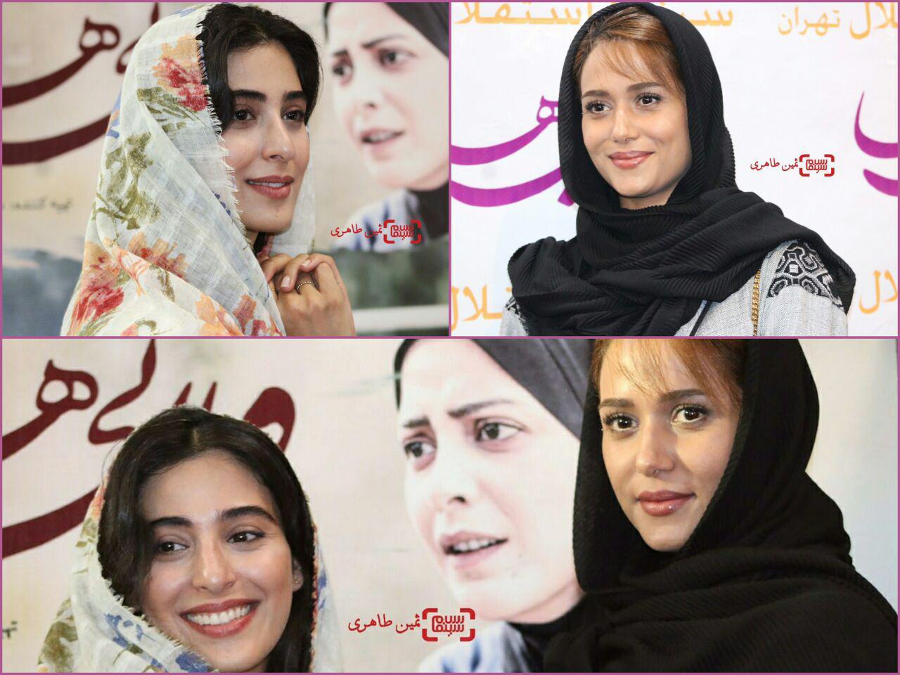آناهیتا افشار و پریناز ایزدیار در اکران مردمی «ویلایی ها» در سینما استقلال/ گزارش تصویری