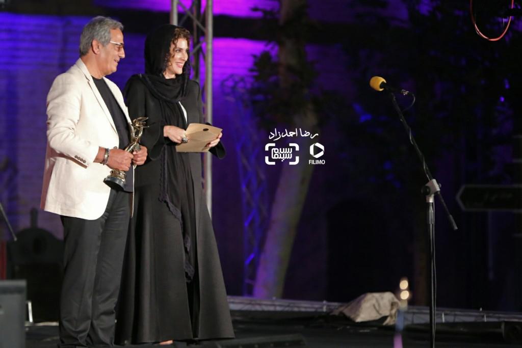 ویشکا آسایش و مجید مظفری در هجدمین جشن خانه سینما