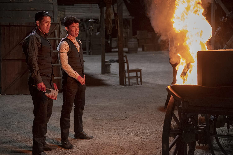 فصل اول سریال مبارز (Warrior) - ریچ تینگ و جیسون توبین
