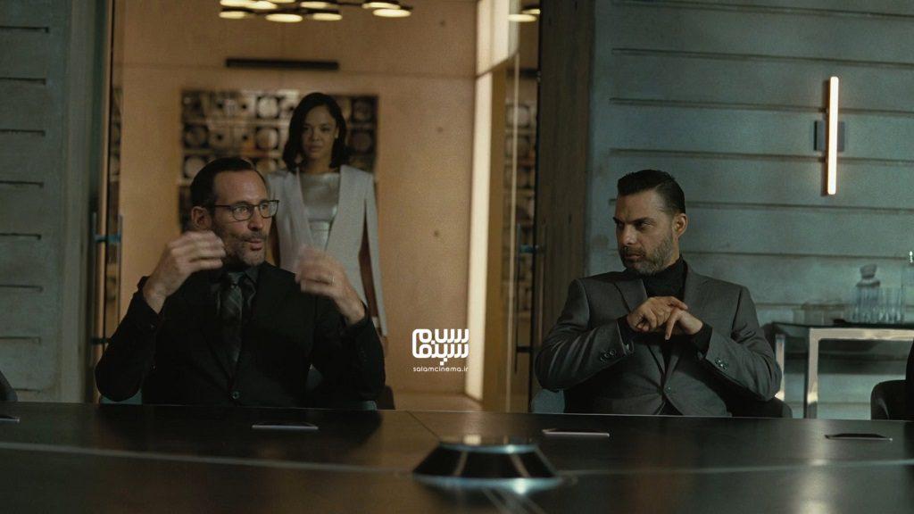 پیمان معادی در قسمت اول فصل 3 «وست ورلد»(Westworld)
