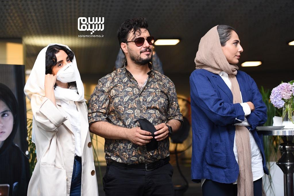 اکران خصوصی سریال زخم کاری - رعنا آزادی ور - جواد عزتی - الهه حصاری - پردیس سینمایی چارسو