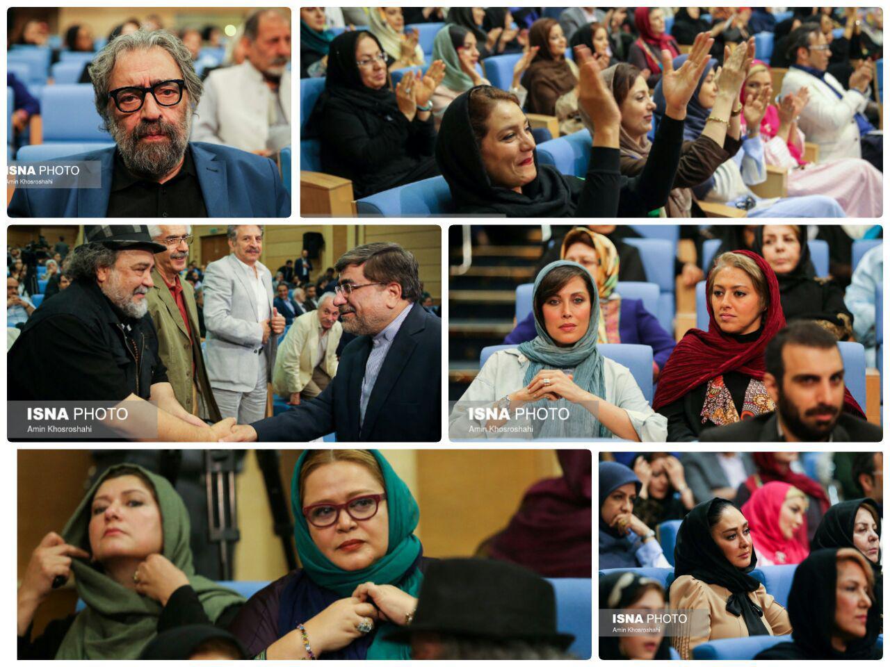 گزارش تصویری ضیافت افطار رییس جمهور با اصحاب فرهنگ و هنر