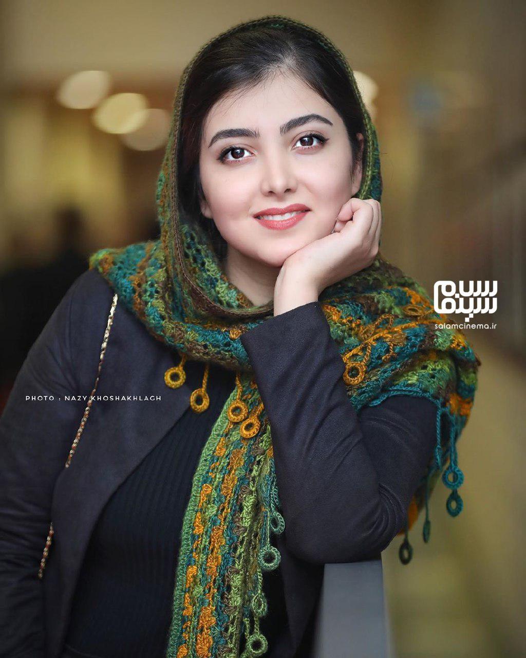 زیبا کرمعلی - اکران خصوصی فیلم مطرب - سینما چارسو